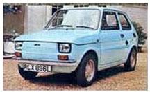 Fiat 126 (Early U.K Model)